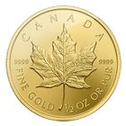 2016 1/2 oz Gold Canadian Maple Leaf Coin