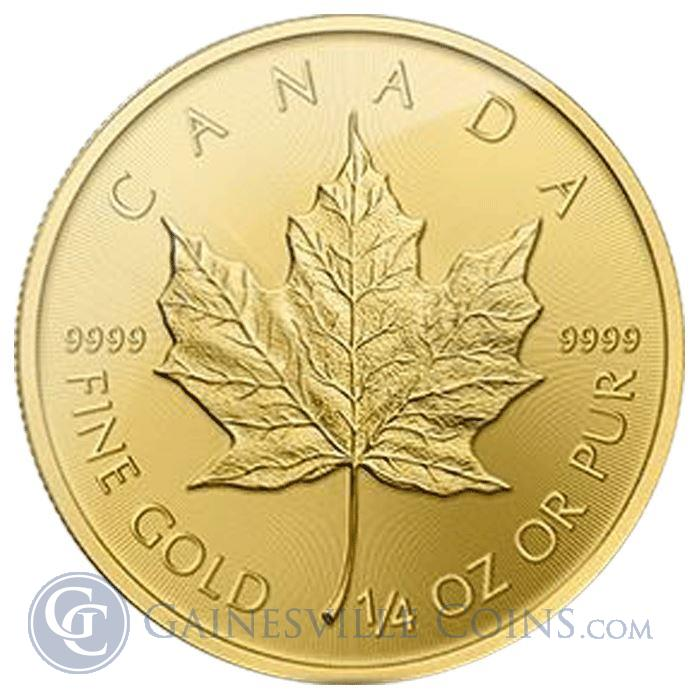 Image Showcase for 2016 1/4 oz Canadian Gold Maple Leaf