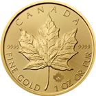 2016 1 oz Gold Canadian Maple Leaf Bullion Coin
