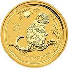 2016 1/20 oz Gold Lunar Year Of The Monkey - Australia Perth Mint
