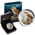 2016 Berlin Coin Show 1 oz Proof Silver Kookaburra Coin Australia