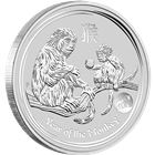 2016 1 oz Silver Monkey Lion Privy - Australia Perth Mint (Limited Mintage Of Only 30,000!)