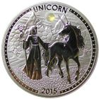 2015 Cameroon 20 g Proof Silver Unicorn 1000 Francs (.999 Fine)