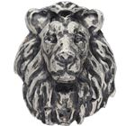 Lion 2 oz Poured Silver Bar (.999 Pure)