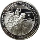 National Anthem Proof Sterling Silver Round (1.22 oz ASW)