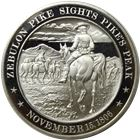 Pike's Peak Proof Sterling Silver Round (1.21 oz ASW)