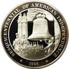 American Independence Proof Sterling Silver Round (1.12 oz ASW)