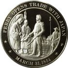 Perry Opens Trade With Japan Proof Sterling Silver Round (1.15 oz ASW)