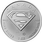 2016 Superman S-Shield 1 oz Canadian Silver Maple Leaf - Brilliant Uncirculated