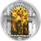 2016 Masterpieces Of Art Easter Resurrection 3 oz Proof Silver Coin - Cook Islands $20