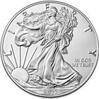 2017 American Silver Eagle Coin - Brilliant Uncirculated