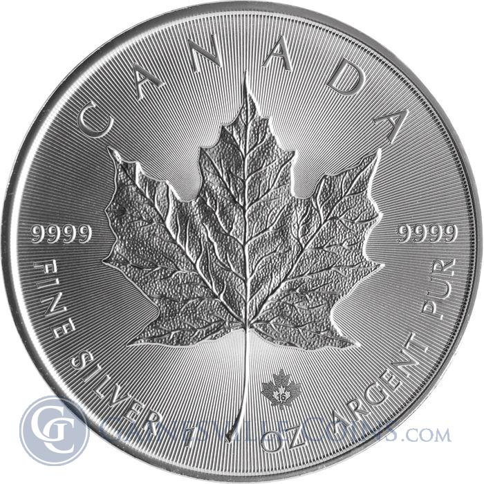 Image Showcase for 2017 Canadian Silver Maple Leaf - Brilliant Uncirculated