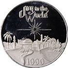 1990 Joy To The World 1 oz Silver Round (.999 Pure)