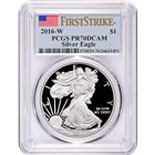 2016-W American Proof Silver Eagle PCGS PR70 DCAM $1 First Strike