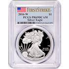 2016-W American Proof Silver Eagle PCGS PR69 DCAM First Strike
