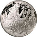 The History Of The American Indian Blackbear Proof Sterling Silver Round (.92 oz ASW)