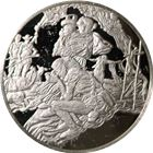 The History Of The American Indian Allan Houser Proof Sterling Silver Round (.93 oz ASW)