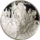 The History Of The American Indian Houser Proof Sterling Silver Round (.94 oz ASW)