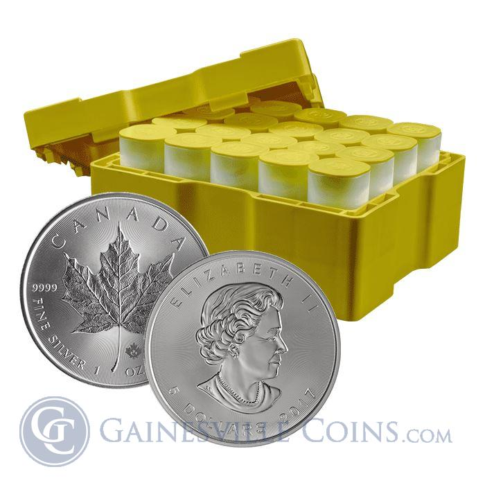 Image Showcase for 2017 Silver Maple Leaf Canada - Box Of 500 Coins (BU)