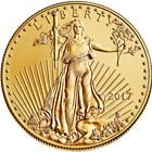 2017 1/2 oz Gold American Eagle - Brilliant Uncirculated