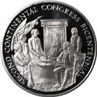 Second Continental Congress Proof Sterling Silver Round (.96 oz ASW)