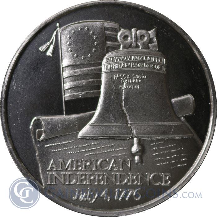 Image Showcase for American Independence Great American Places Sterling Silver Art Round (.93 oz ASW)