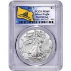 2017 American Silver Eagle PCGS MS69 First Strike - Don't Tread On Me (Gainesville Coins Exclusive)