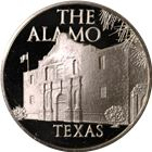 The Alamo Texas Proof Sterling Silver Round (.75 oz ASW)