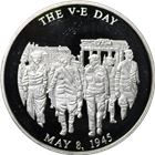 World War II The V-E Proof Silver Round (.65 oz ASW)