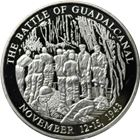 World War II The Battle of Guadalcanal Proof Silver Round (.65 oz ASW)