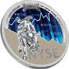 2017 Cameroon 8 oz Silver 200th Anniversary Of New York Stock Exchange