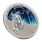 2017 Cameroon 1 oz Silver 200th Anniversary Of New York Stock Exchange