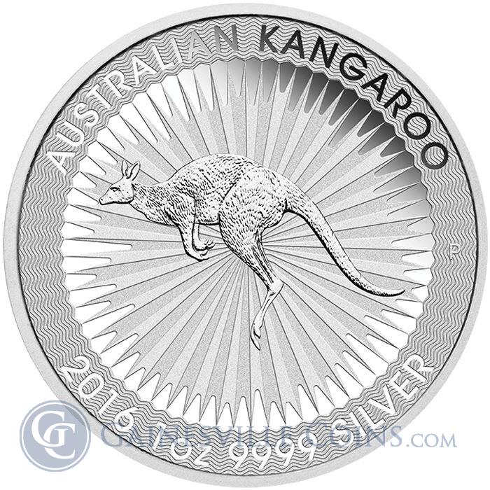 Image Showcase for 2016 Australia 1 oz Silver Kangaroo - Spotted