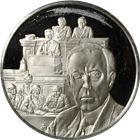 Woodrow Wilson Proof Sterling Silver Round (.54 oz ASW)