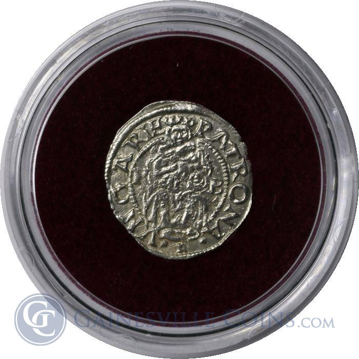 Image Showcase for Madonna And Child Silver Denar Of Hungary