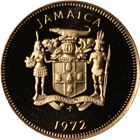 1972 Jamaica 1 Cent Proof Coin