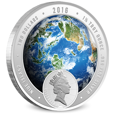 2016 Discovery Channel Silver Obverse Coin