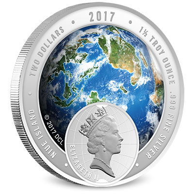 2017 Discovery Channel Silver Obverse Coin