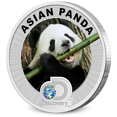 Discovery Channel Reverse Coin - Panda