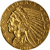 History of the Gold $2.50 Quarter Eagle Coin