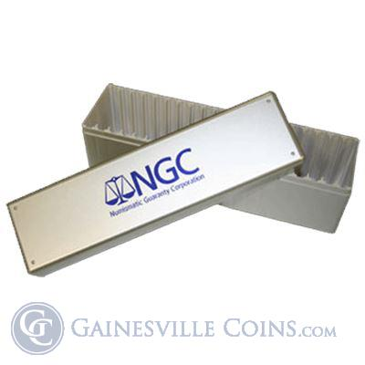 NGC Silver Box For 20 Certified Coins