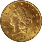 $20 Liberty Gold Double Eagle (Very Fine) - Random Date