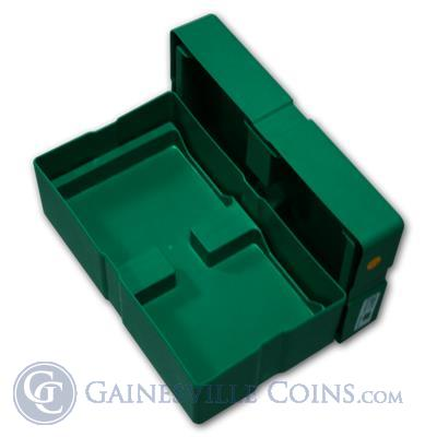 Empty Green Monster Box for Silver American Eagle 500 Coins