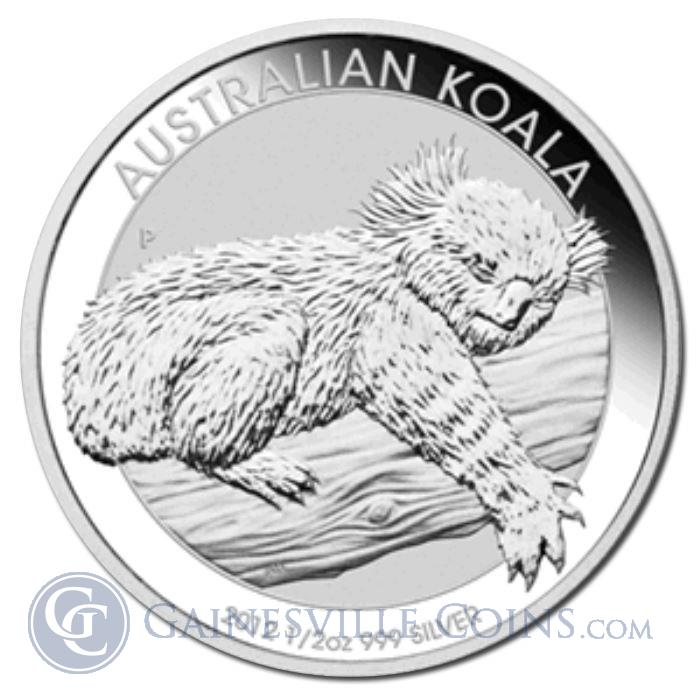 Image Showcase for 2012 1/2 oz Silver Australian Koala Coins