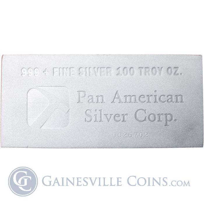 Image Showcase for 100 oz Silver Bar .999 Pure Silver - Generic