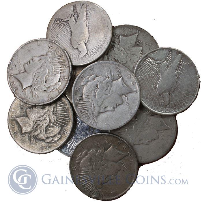 Image Showcase for Peace Silver Dollar Cull Common Date