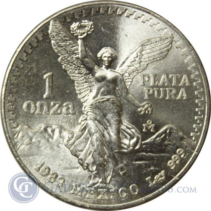 Image Showcase for 1983 1 oz Silver Mexican Libertad