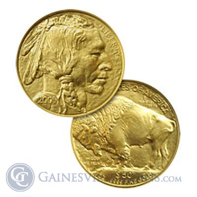 1 oz American Gold Buffalo - Random Date (These coins are not in Mint Sheets)