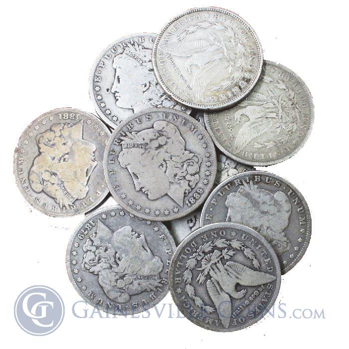 Image Showcase for  Morgan Silver Dollar Cull Condition Common Date