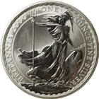 2000 1 oz Silver Britannia (Mintage of only 81,301)